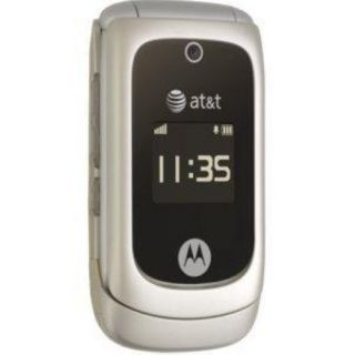At T Motorola EM330 Great Condition Flip Phone