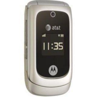 At T Motorola EM330 Great Condition Flip Phone