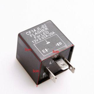 3 Pin Car Electronic LED 12V Flasher Relay to Fix Turn Signal Blinker LED Light