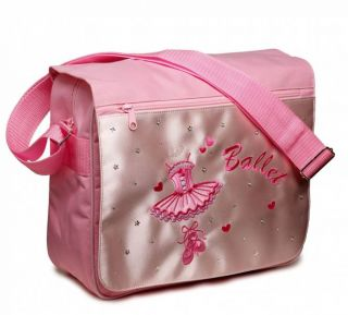 Ballet Shoes Dance Bag Katz Princess Pink Messenger Handbag Dancewear Tutu