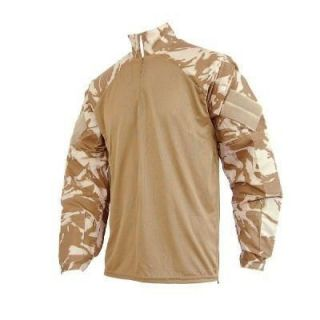Lot of 8 British Ubac Desert Combat Shirt Tan Coolmax Camo Military Surplus