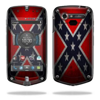 Skin Decal Sticker for Casio G'Zone Commando 4G LTE Rebel Flag