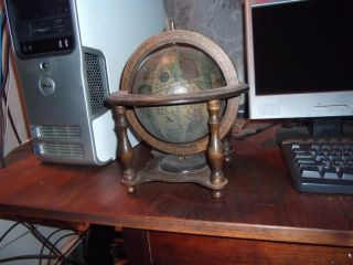 Details about LOT VINT GLOBES & BOOKENDS BOOK ENDS ZODIAC GLOBE ITALY