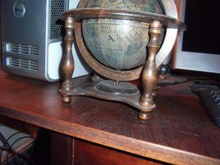 Lot vint Globes Bookends Book Ends Zodiac Globe Italy Japan Tilso SMR Ashtray
