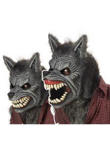 Brand New Howling Big Bad Wolf Werewolf Ani Motion Mask
