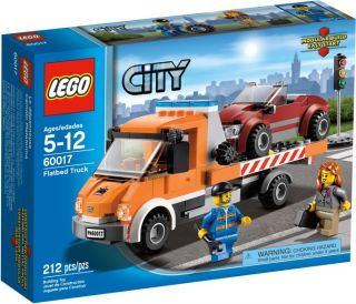 January 2013 Lego City Flatbed Truck 60017 on Hand Great Gift