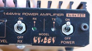 VHF 144MHz Pre Amplifer Power Amplifier 35W for Ham Radio