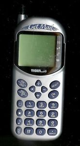 Tiger Electronic Get Mail Handheld Brick Game Cell Phone LCD Toy Travel Pocket