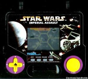 1990s Tiger Electronic LCD Handheld Star Wars Arcade Imperial Assault LCD Game