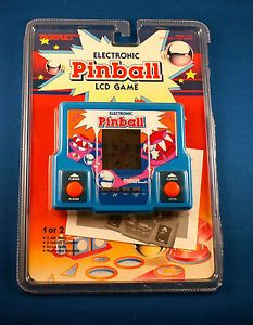 1980s Pinabll Tiger Electronic Handheld Video LCD Game Vintage Arcade 80s Toy