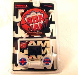New SEALED Tiger Electronics NBA Jam Basketball LCD Handheld Video Game Arcade