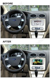 """7"""" Car GPS DVD Player Navigation for Ford Focus 2008 2011 Free 3D GPS Maps"""