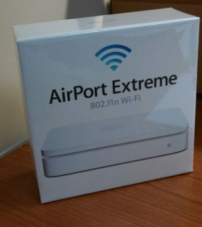 Apple Airport Extreme 5 Port Gigabit Wireless N Router MD031AM A 885909480760