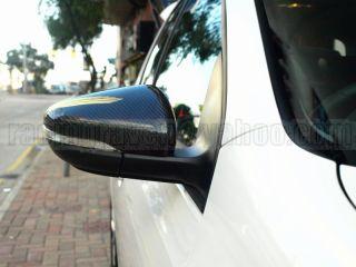 Carbon Fiber 09 12 Golf 6 VI GTI MK6 Door Mirror Covers