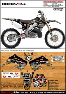 Honda CR 125 Dirt Bike