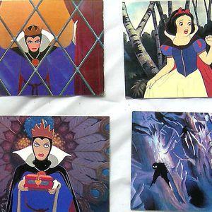Vtg 90s Movie Skybox Snow White Walt Disney Trading Cards Complete Set Kids Toy