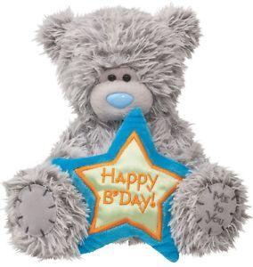 "Tatty Teddy Happy Birthday 6"" Plush Greeting Card Stuffed Animal Bear Douglas"