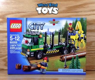 Lego City Logging Truck 60059 • Brand New 2014 in Hand Ships Quick