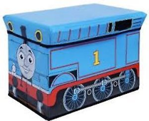 Thomas The Train Toy Box Storage Organizer Kids Ottomen Thomas and Friends