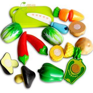 Play House Mini Toys Fruit Vegetable Series Model