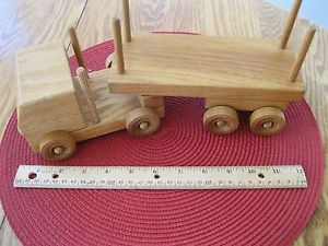 Toy Log Trucks