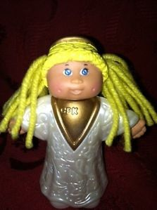 Cabbage Patch Kids Mini Doll Cake Topper Angel Communion Fairy Wings Toy Girl