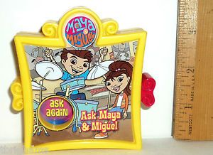 Ask Maya Miguel Ask Paco 2005 English Spanish Wendy's Kids Meal Toy