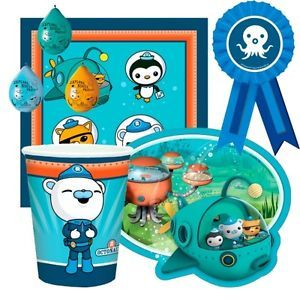 New Octonauts Party Tableware Supplies All Items in One Listing