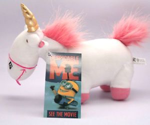 Despicable Me The Fluffy Unicorn Stuffed Plush Soft Toy New Great Gift for Kids