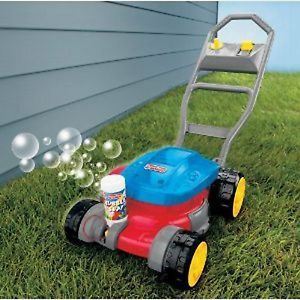 Fisher Price Bubble Lawn Mower Toy Baby Kids Push Toys H8910 New