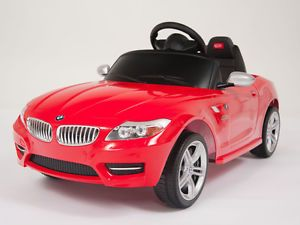 Licensed BMW Battery Power Ride on Toy Kids Remote Control Car Wheel Key Lights
