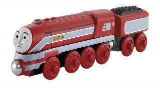 Caitlyn Thomas Friends Wooden Train Tank Engine King Castle Katelyn O