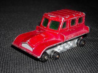 Vintage Lesney Matchbox No 35 Snow Trac Tractor Car