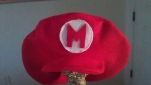 Super Mario Bros Party Hats Handmade New