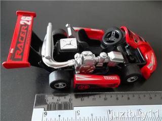 1 18 Speed King Racer Go Kart Cart Red Diecast Model Toy Car Gift Kids New