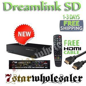 Dreamlink SD HDMI Digital FTA Satellite Receiver w Free HDMI Ethernet Cable