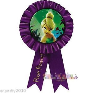 Disney Fairies Tinkerbell Guest of Honor Ribbon Birthday Party Supplies Favors