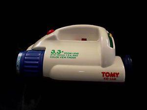 80's Vintage Tomy Big Fun Kid Cam Toy Camcorder Camera