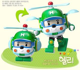 Robot Toys Transformers Character Car New Robocar Poli Heli Helicopter