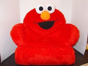 Fisher Price Giggle Shake Sesame Street Elmo Kids Foam Plush Chair Does not Work