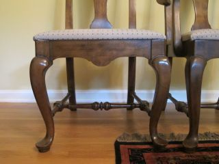 Ethan Allen Wooden Dining Room Table w 8 Chairs
