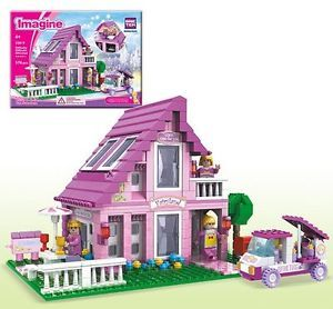 Lego Friends Fairyland Girl House by Bric Tek 576pcs Compatible w Lego