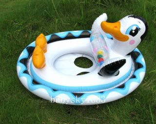 Baby Kids Float Raft Ring Tube Inflatable Water Play Pool Toy Boat Swim Ring Aid