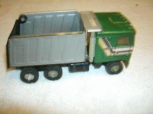Vintage Ertl Kenworth Truck Semi Dump Truck Toy Metal Toy Truck Kids Cabover
