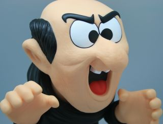 Hot Toys Original New Big Evil Gargamel Smurfs Figure Kids Christmas Doll Gift