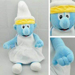 Big Smurf Character Smurfette Plush Toy Doll Stuff Without Pants TW1038