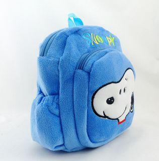 Children's Kindergarten School Bag Plush Backpack Bag Boys Girls Kids Gift Idea