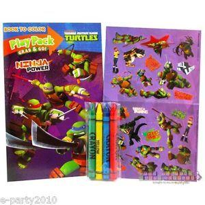2 Teenage Mutant Ninja Turtles Power Play Packs Birthday Party Supplies Favors