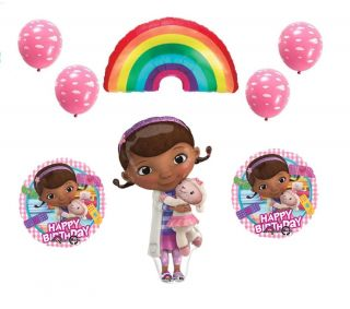 Doc McStuffins Birthday Party Supplies Decorations Balloons Girls Toddler Kit XL