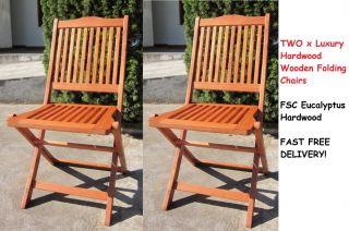 Hardwood Wooden Folding Round Garden Table Folding Wood Chairs Garden Furniture
